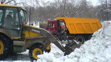 Вывоз снега самосвалом в Минске и минский район